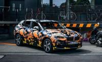 宝马X2量产版预告图 法兰克福车展首发