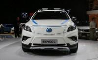 北汽纯电动SUV将年底上市 或命名ET400