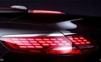 新款奔驰S级敞篷版预告图 今年9月亮相