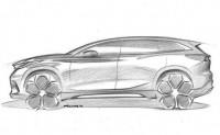 奇瑞全新紧凑型SUV手绘图 法兰克福首发