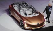 雷诺SYMBIOZ概念车亮相 科幻设计风格