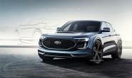 福特全新电动SUV预告图 续航或达483km
