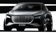 奥迪Q4 e-tron概念车设计图 日内瓦首发