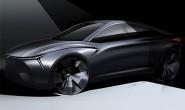 上海车展亮相 合众全新款概念车设计图