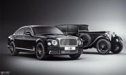 宾利4款新车亮相上海车展 致敬百年传奇