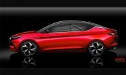 江淮发布A432设计图 将于成都车展亮相