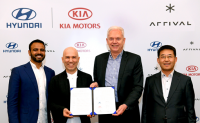 现代·起亚汽车战略投资Arrival公司 携手开发电动商用汽车