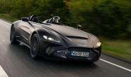 阿斯顿·马丁哑光黑Speedster敞篷超跑原型车首发 约671.2万起售