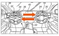 方向盘可左右移动 沃尔沃全新专利曝光