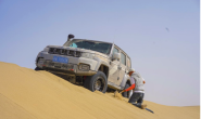 穿越N39世界纪录被改写?董长凯和BJ40单人单车横穿塔漠只用了7天!