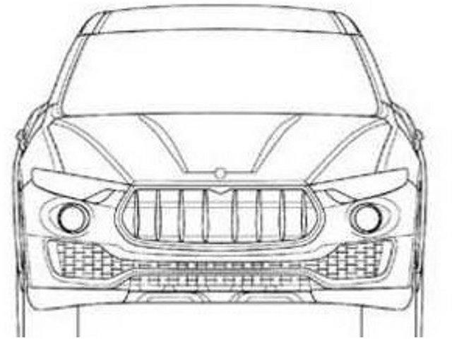 玛莎拉蒂Levante预告图 日内瓦车展首发