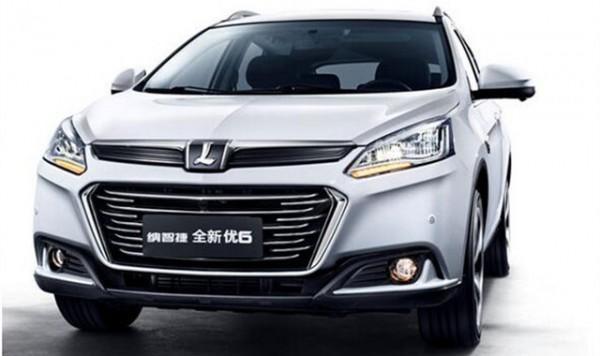 新款优6 SUV于上海车展上市 增1.6T动力