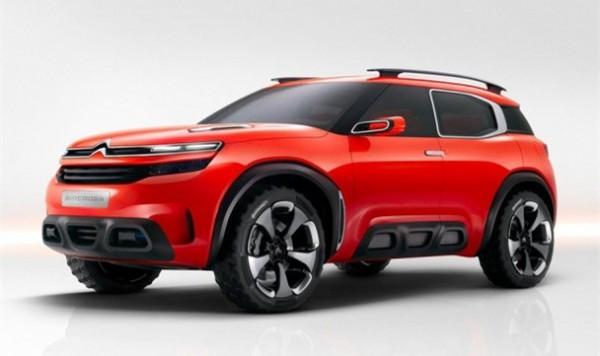雪铁龙全新SUV上海车展亮相 四季度上市