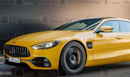 Panamera接招 奔驰AMG GT四门版效果图