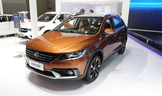 2017广州车展:天津一汽骏派CX65亮相