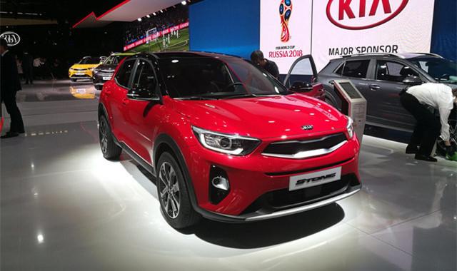 起亚Stonic将北京车展首发 定位小型SUV