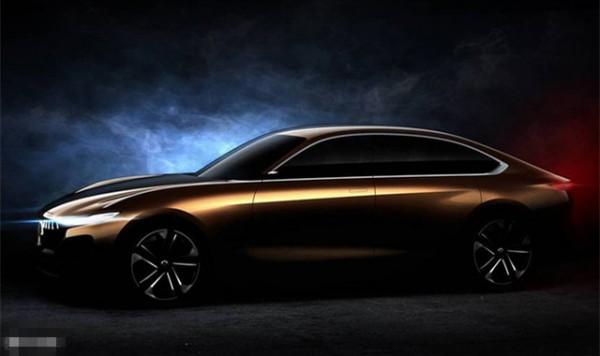 正道H500概念车预告图 将亮相北京车展