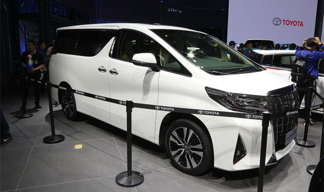 2018北京车展:新款丰田埃尔法正式亮相