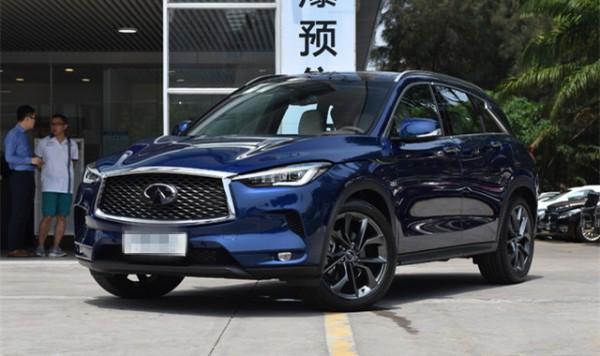 英菲尼迪全新QX50预售价公布 35-51万元