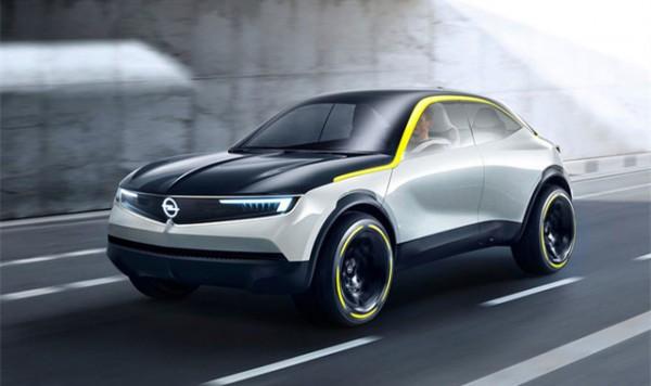 欧宝全新概念车官图 4座对开门设计SUV