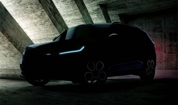 斯柯达柯迪亚克RS预告图 巴黎车展首发