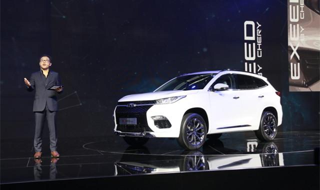 奇瑞高新华:EXEED TX车型将明年推出