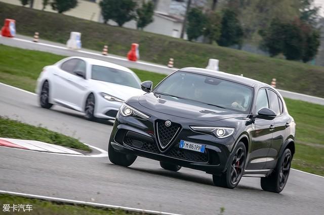 阿尔法·罗密欧Giulia/Stelvio赛道试驾