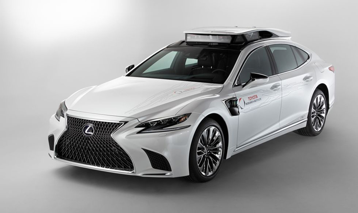 丰田研究院添新车,全新LS自动驾驶技术开始测试