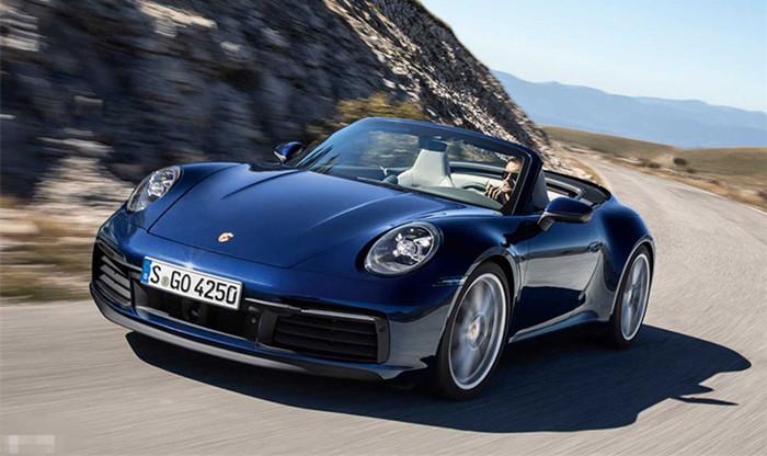 全新保时捷911敞篷版官图 售165.8万起