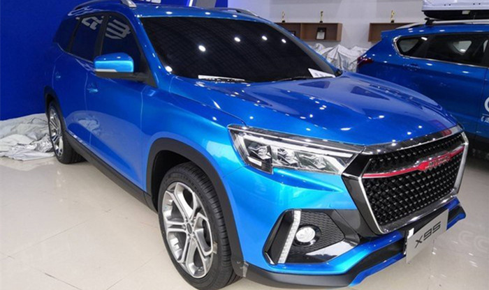 捷途X95将于三季度上市 定位中大型SUV