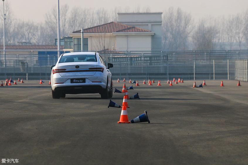 电车也有乐趣 赛道体验比亚迪秦Pro EV