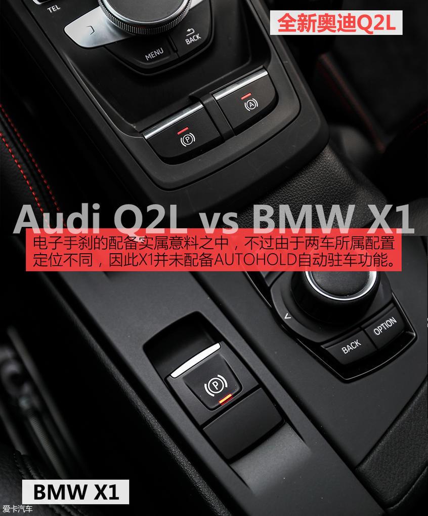 精致还是实用?全新奥迪Q2L对比BMW X1