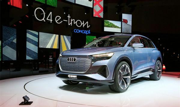 日内瓦车展:奥迪Q4 e-tron概念车首发