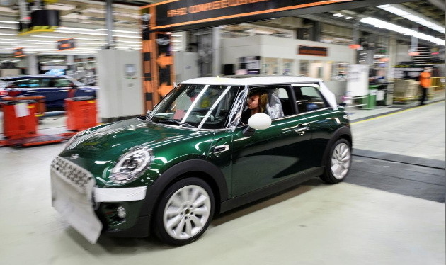 宝马MINI和标致沃克斯豪尔暂停英国工厂生产