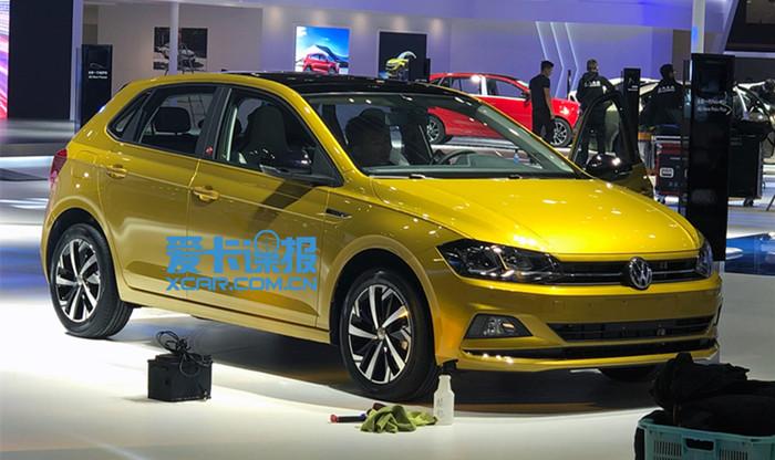 2019上海车展探馆:上汽大众Polo Plus