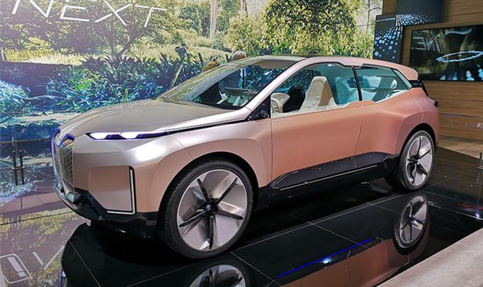 上海车展:宝马Vision iNEXT概念车发布