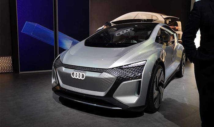 2019上海车展 奥迪AI:ME概念车全球首发