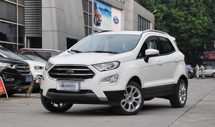 长安福特翼搏新增车型上市 售10.78万起