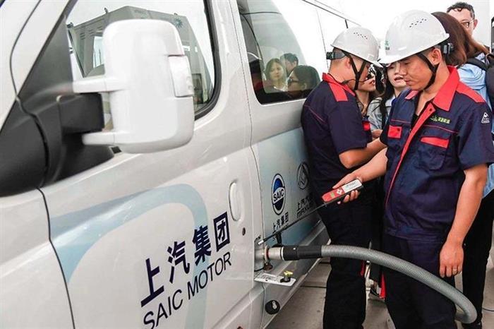 上海:建氢燃料电池车全场景应用加氢站