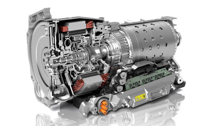 采埃孚设计出新一代8挡混动自动变速器