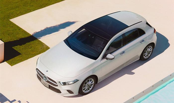 全新奔驰A级两厢版正式上市 25.78万起