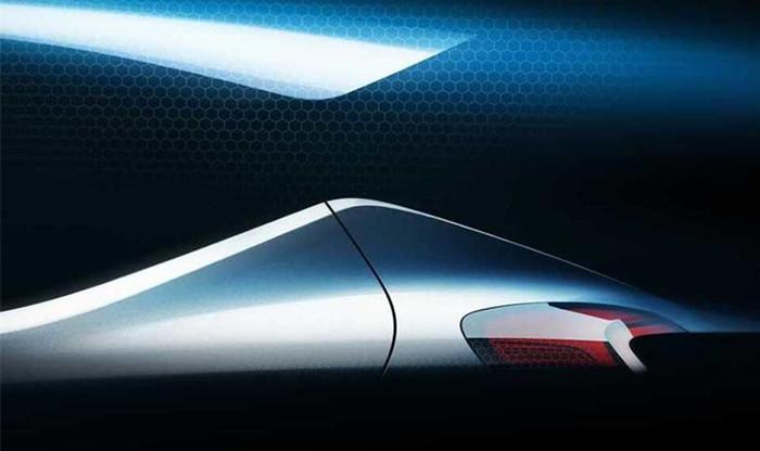 现代全新车型预告图发布 将于9月亮相