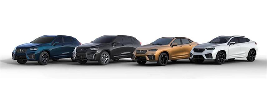 WEY VV7家族将推4款新车 成都车展上市
