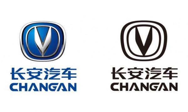 全黑且扁平化 长安汽车更换品牌LOGO