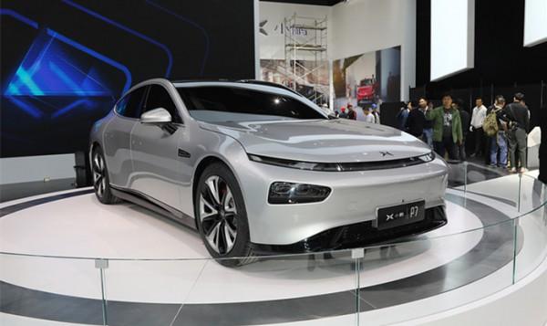 小鹏P7广州车展公布预售 续航突破620km