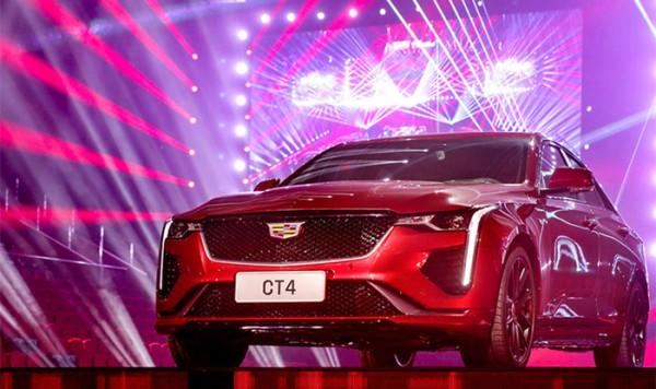凯迪拉克CT4正式亮相 将于2020年上市