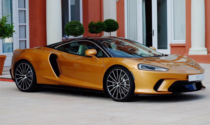 迈凯伦GT全新跑车上市 售价198.80万元