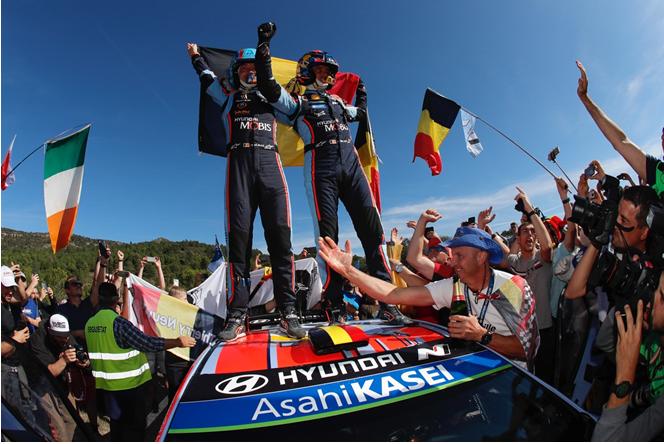 现代车队首获WRC综合冠军 北京现代延续高性能实力