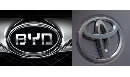 比亚迪与丰田成立合资公司 双方各出资50%