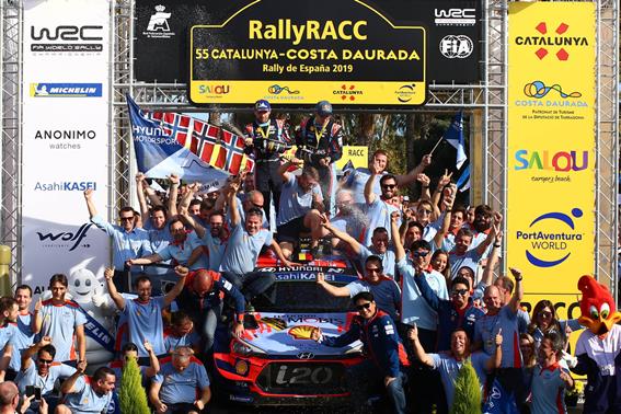 现代车队史上首次荣登WRC综合冠军宝座 驰骋赛场大秀强劲技术实力